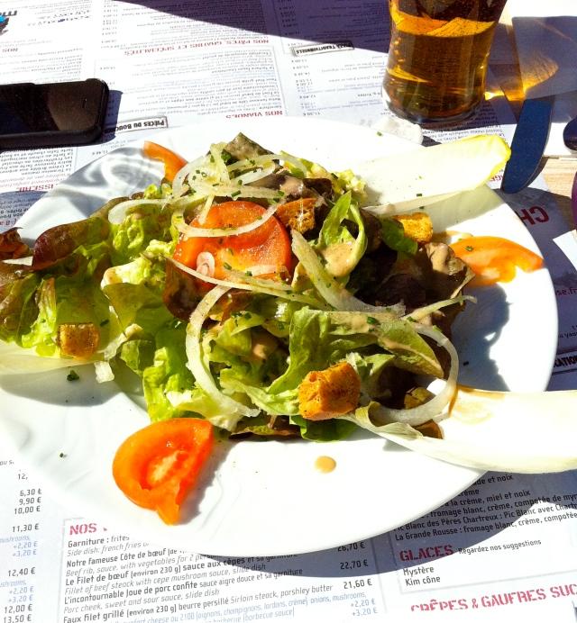 Salad in France