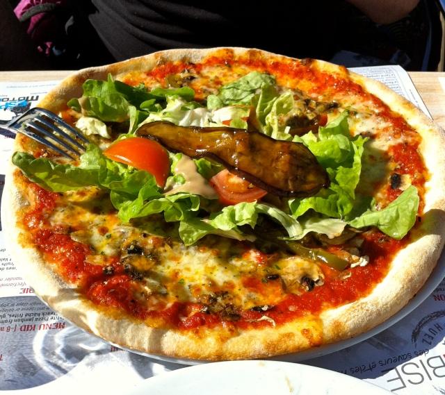 披萨在法国