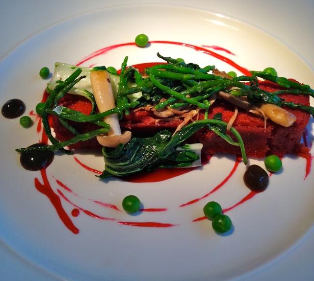vegan tasting menu at 34 Windsor st Burbage