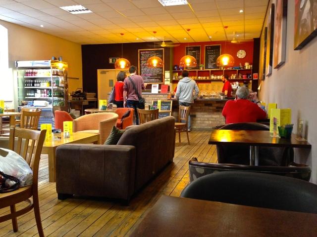 莱斯特的世界和平咖啡馆