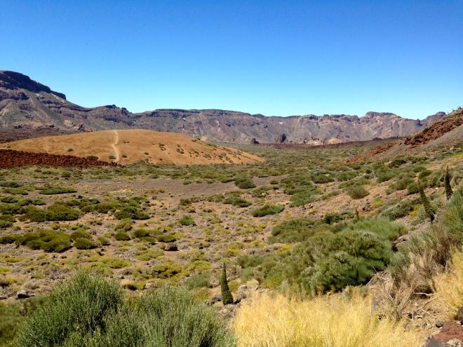 El Teide火山