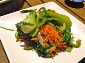 vegan sushi at RA