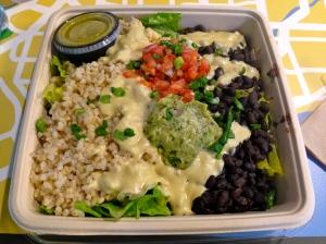 vegan Mexican food at Real Food Daily LAX