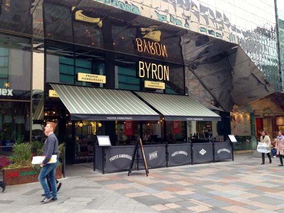 Byron Burger Leicester